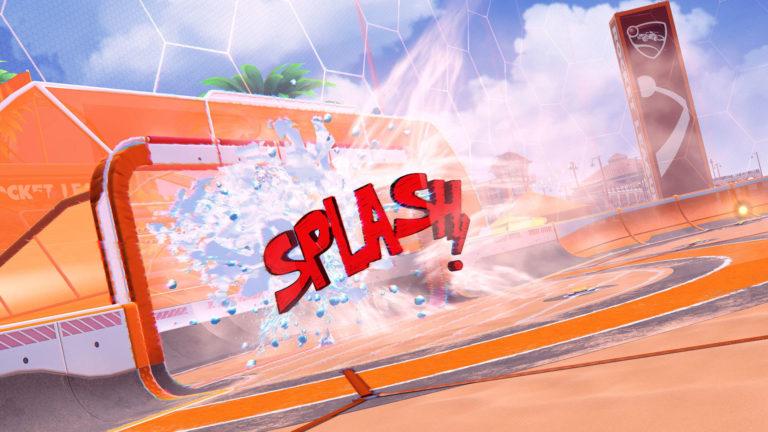 Explosion de but : Big Splash