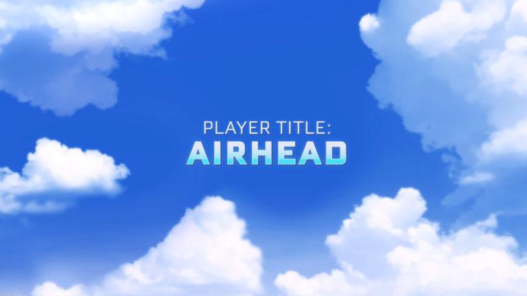 Titre : Airhead